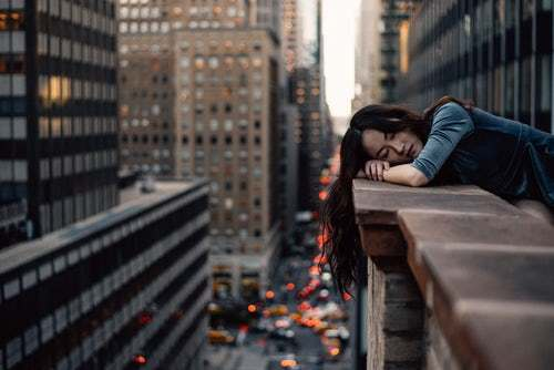 One Tired Lady- Photo by Hernan Sanchez on Unsplash