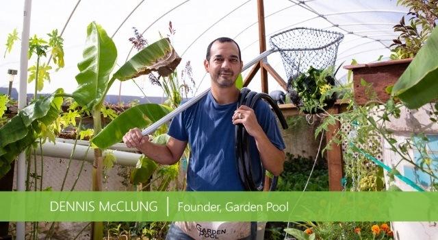 Dennis McClung- Garden Pool