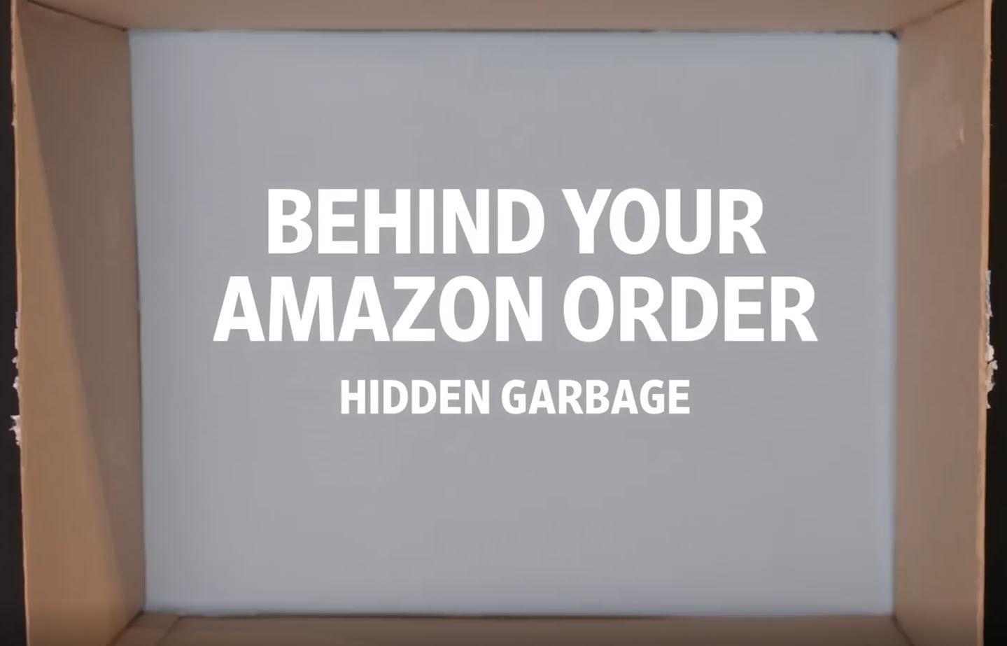 Behind Your Amazon Order