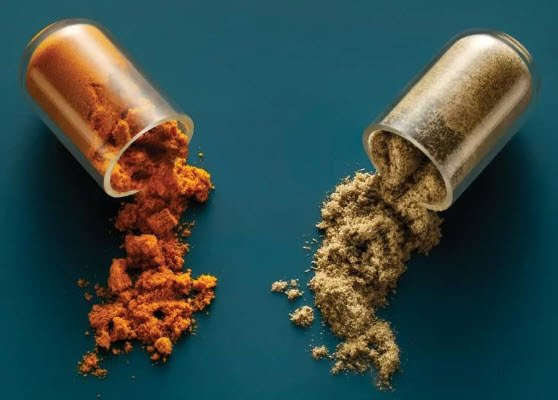Turmeric and Echinacea